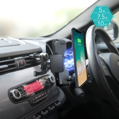 ROADER Fast Wireless Car Charging Mount Air Vent