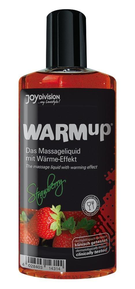 WARMup Massage Oil Strawberry Flavour