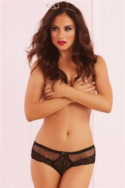 Seven Til Midnight Galoon Lace And Dot Panty 1X/2X