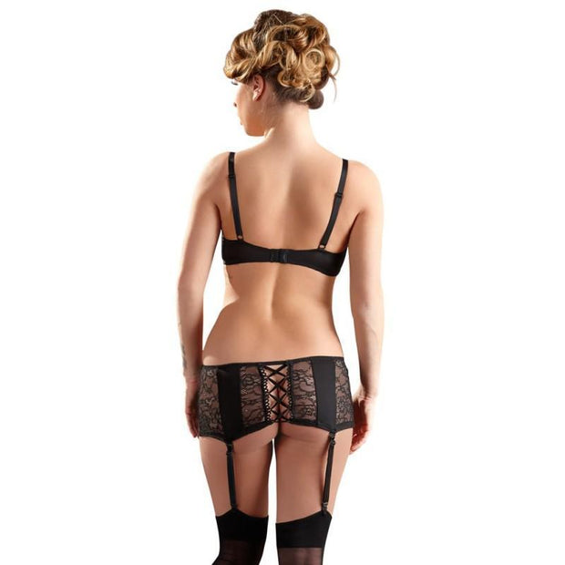 Cottelli Collection Bra And Suspender Skirt