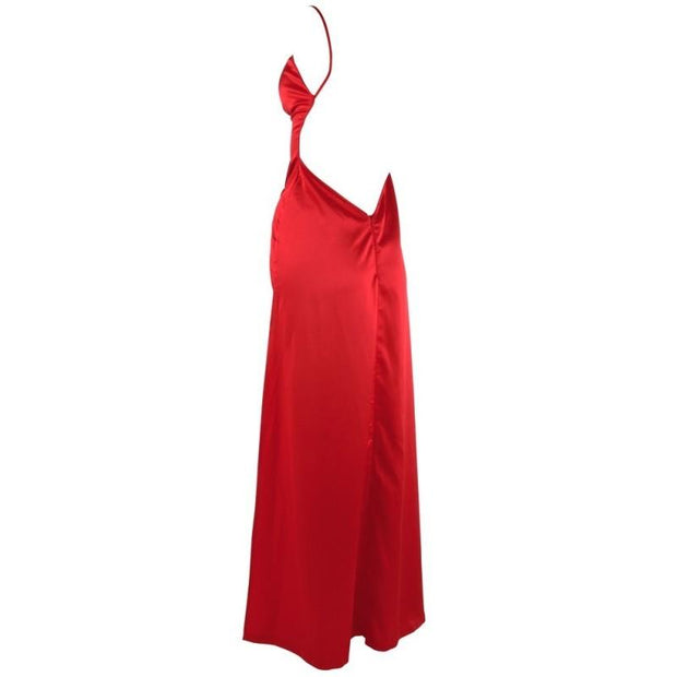 Cottelli Collection Red Satin Dress