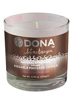 DONA by JO Kissable Massage Candle- Chocolate Mousse