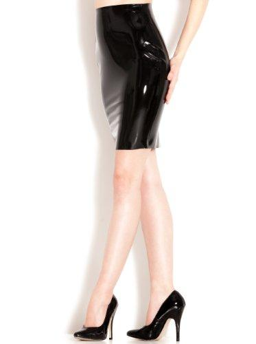 Sharon Sloane Latex Pencil Skirt