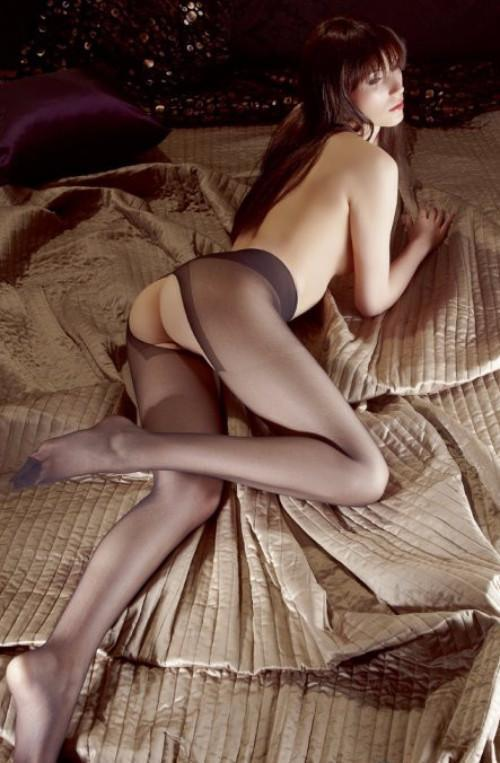 Crotchless Tights by Cottelli Collection