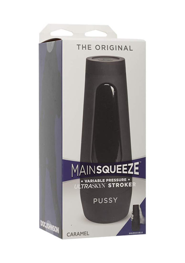Main Squeeze The Original Pussy UltraSKYN Stroker - Caramel
