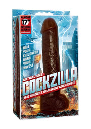 "COCKZILLA ""It's easy to clean, just put it through a car wash"""