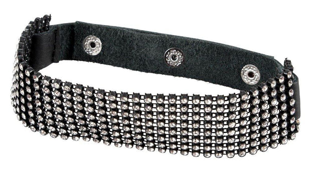 Bad Kitty Rhinestone Collar