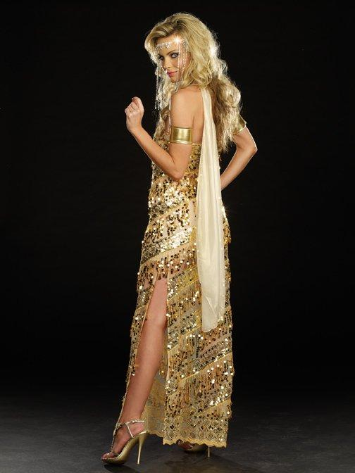 Dreamgirl Golden Goddess Costume