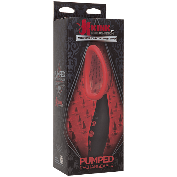 KINK Rechargeable Automatic Vibrating Pussy Pump