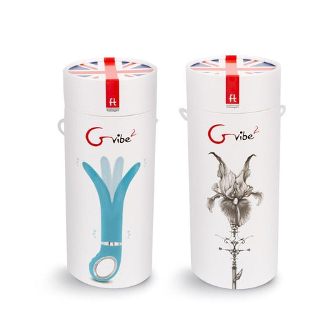 G Vibe 2 Unisex Dual Flexible Tip Vibrator by ft LONDON