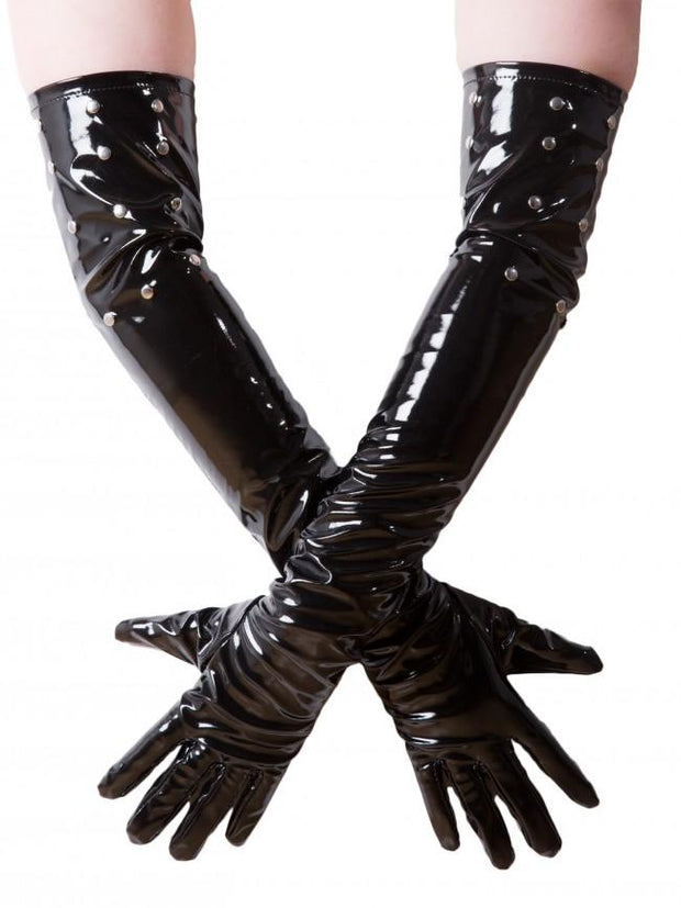 Honour Studded PVC Gloves