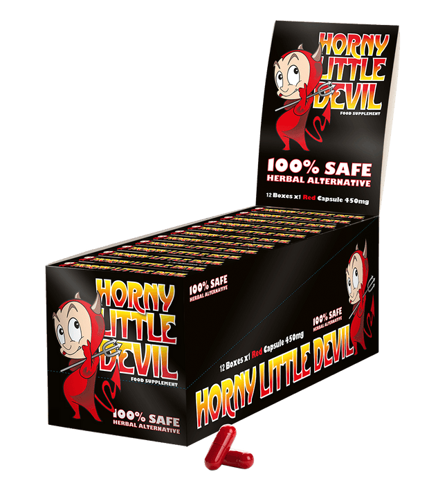 Horny Little Devil- Unisex Food Supplement