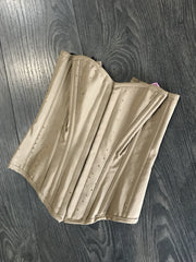 Scandals Taupe Satin Corset