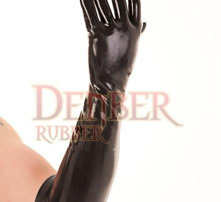 Moulded Latex Elbow Gloves