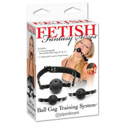 Ball Gag Training System (With Free Satin Mask)
