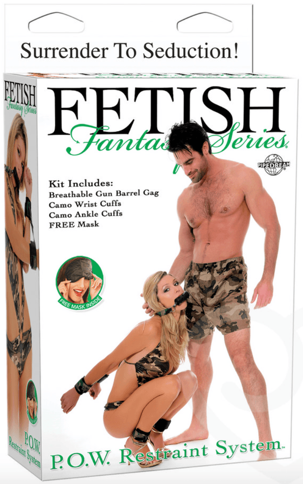 Fetish Fantasy Camouflage Restraint Kit