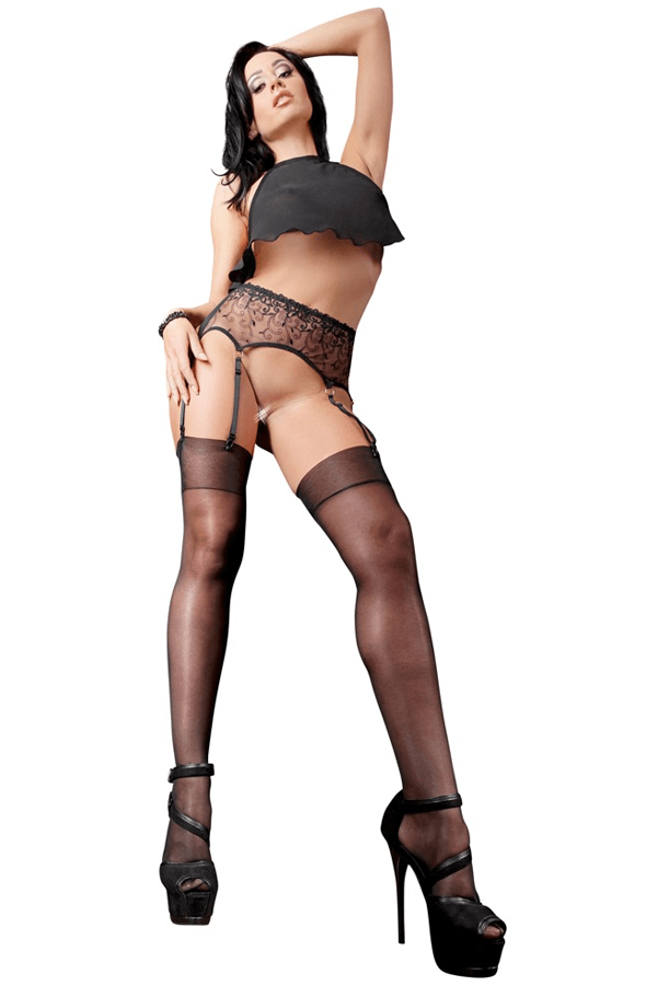 Sheer Stockings by Cottelli Collection