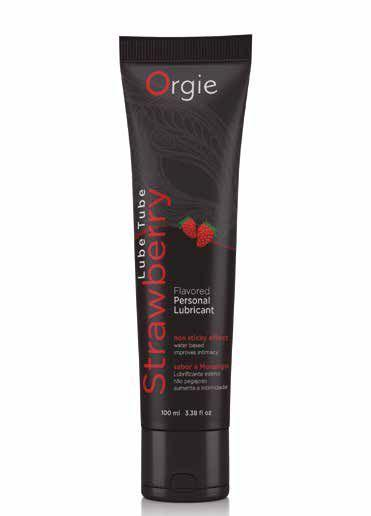 Orgie Lube Tube Strawberry Flavoured Lubricant