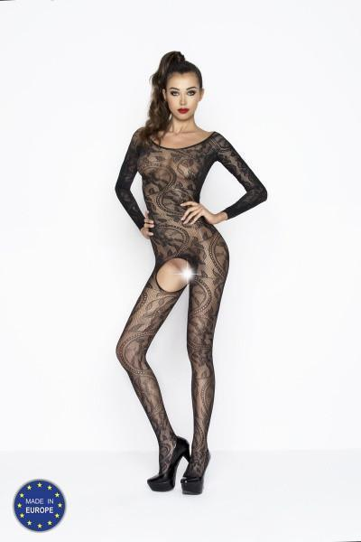 Vine Lace Pattern Bodystocking
