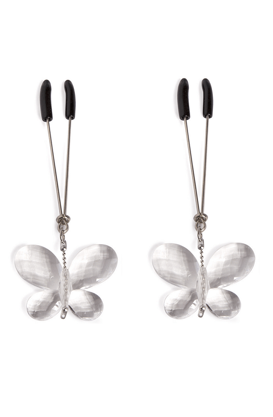 Butterfly Jewel Nipple Clamps