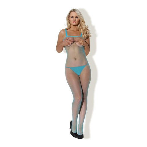 Cute Kitty Fishnet Catsuit (Various Colours)