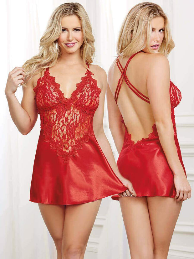 Dreamgirl To Have and To Hold Chemise - Small