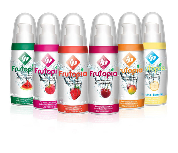 Vegan ID Frutopia Lube - Natural Flavours 100ml (Various Flavours)
