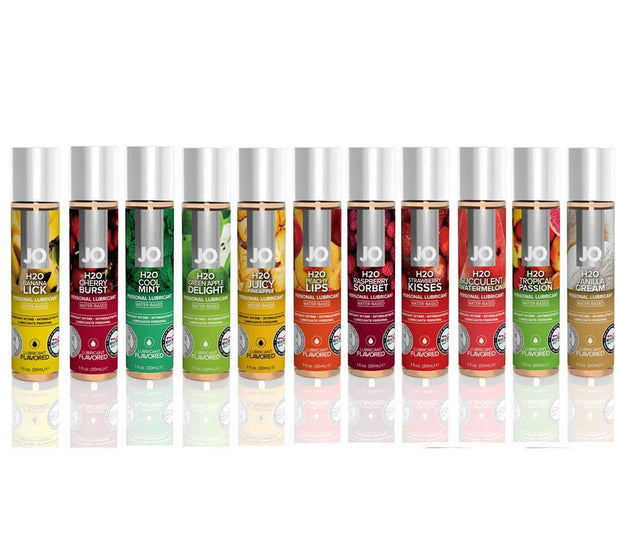 System JO H2O Flavoured Lubricant 30ml- ( VARIOUS FLAVOURS )
