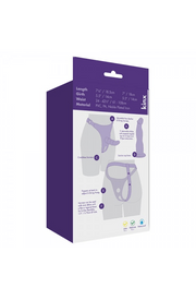 Kinx Double Tip Strap-On Harness Kit with 2 Dildos