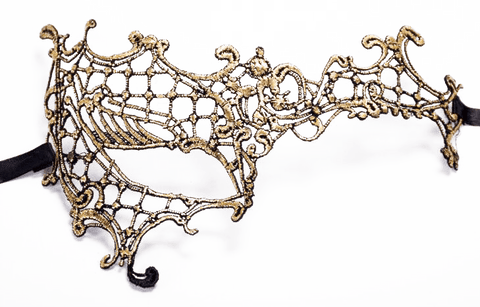 AIS Gold Phantom Masquerade Lace Eye Mask M10119 Not Available For Local Delivery
