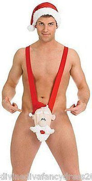Christmas Mankini - One Size