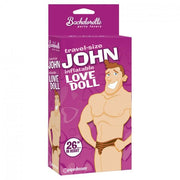 Travel Size John Inflatable Love Doll