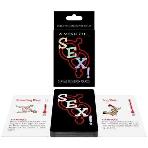 Sex Positions Card Game