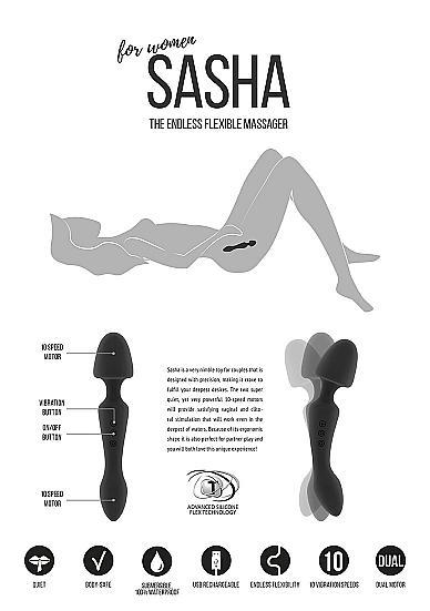 Sasha by Jil - The Endless Flexible Massager
