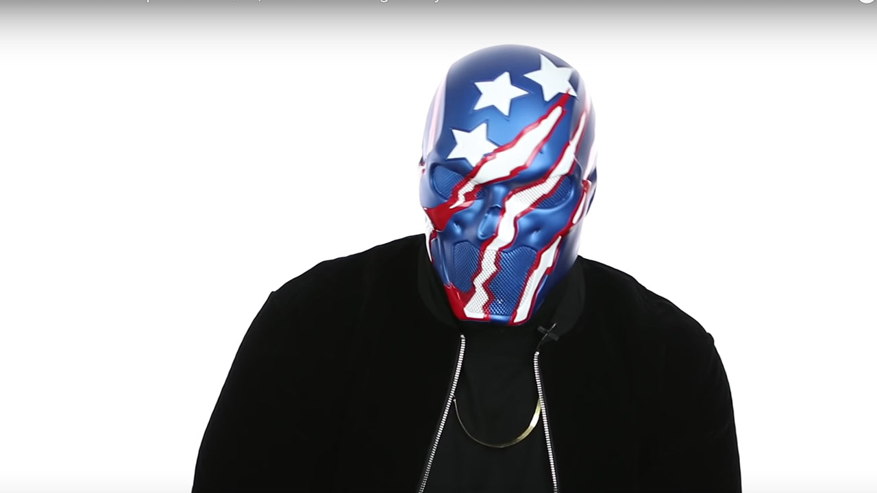 DRussellAmerica Explains His $18,000 Mask Designed By Jose Fernandez and Rae Sremmurd Reaction