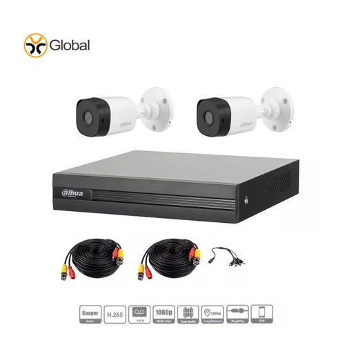 DVR Dahua Full HD 2 Camaras
