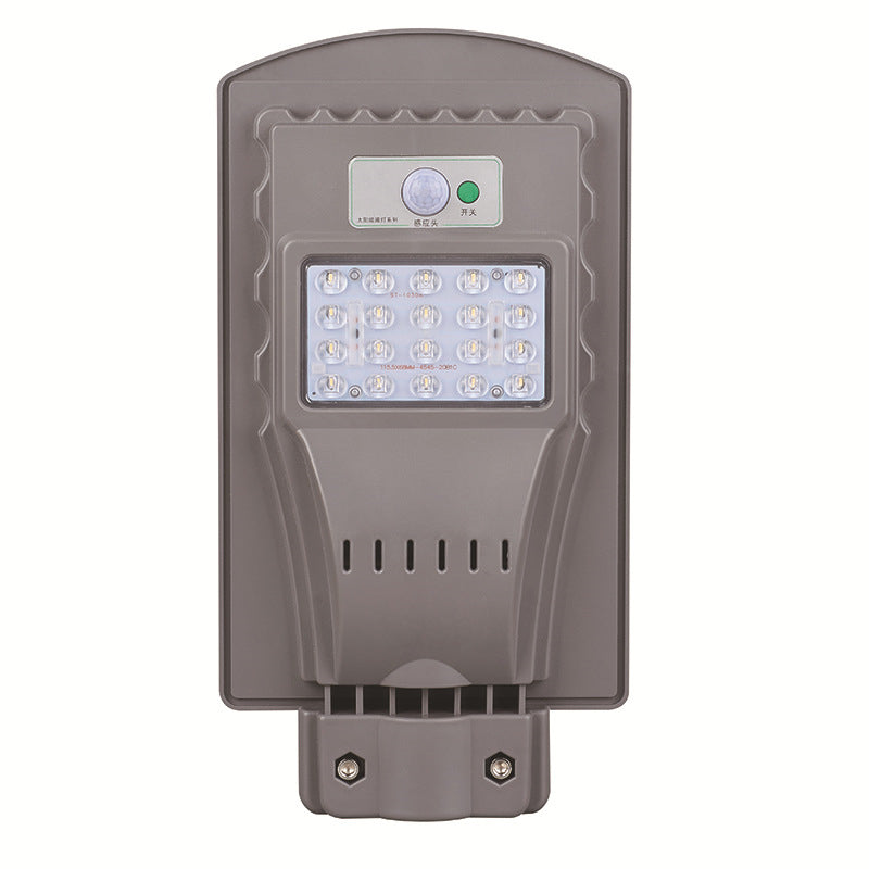 Lampara Led 20w Panel Solar anexado