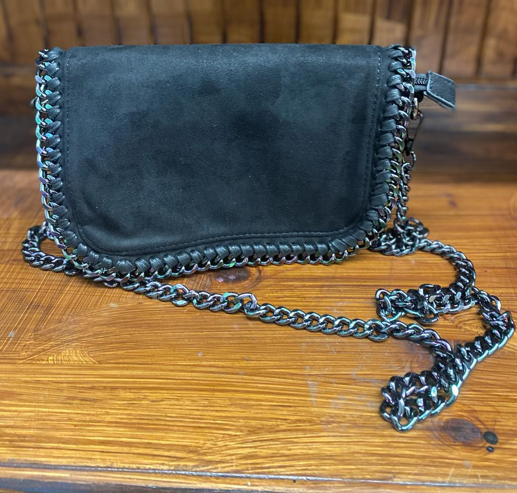 Damen Tasche Black Chain