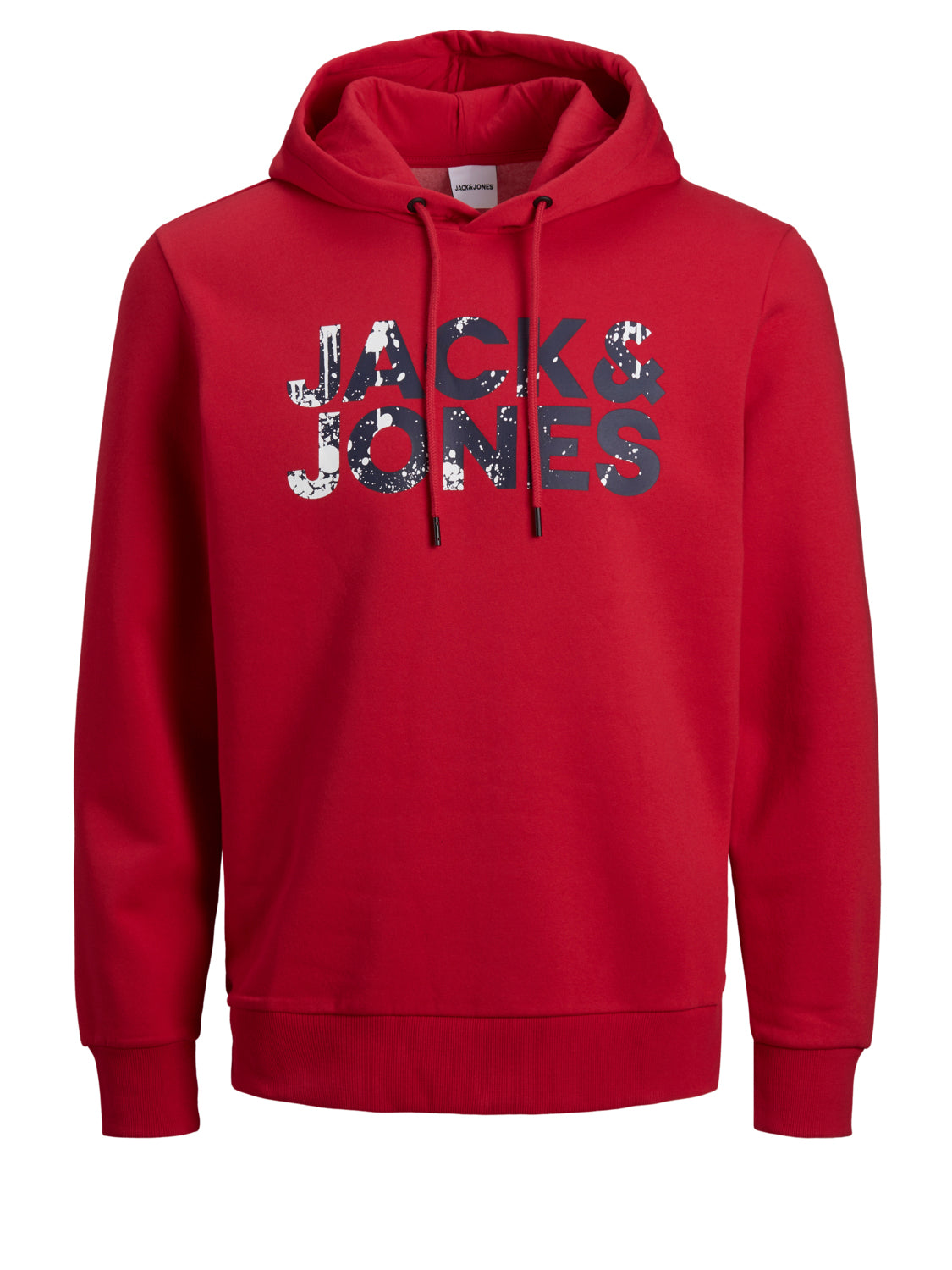 Jack and Jones Herren Pullover Sweater Red with white black