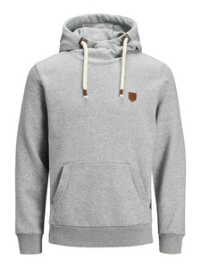 Jack and Jones Herren Pullover Blutom Light Grey