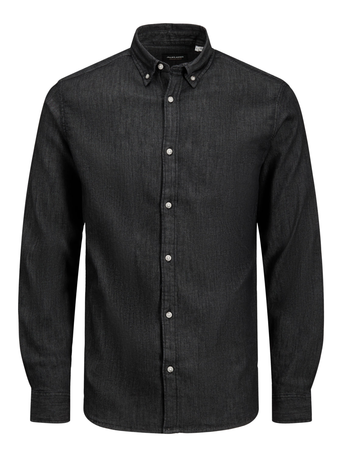 Jack and Jones Herren Jeanshemd Schwarz