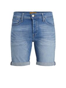 Jack and Jones Rick Shorts Blau Denim