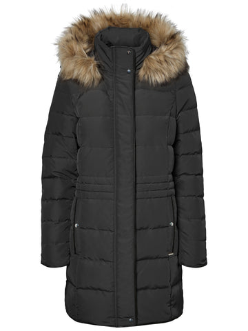 Vero Moda Damen Winterjacke Dark Navy