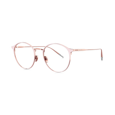 Rose gold frame