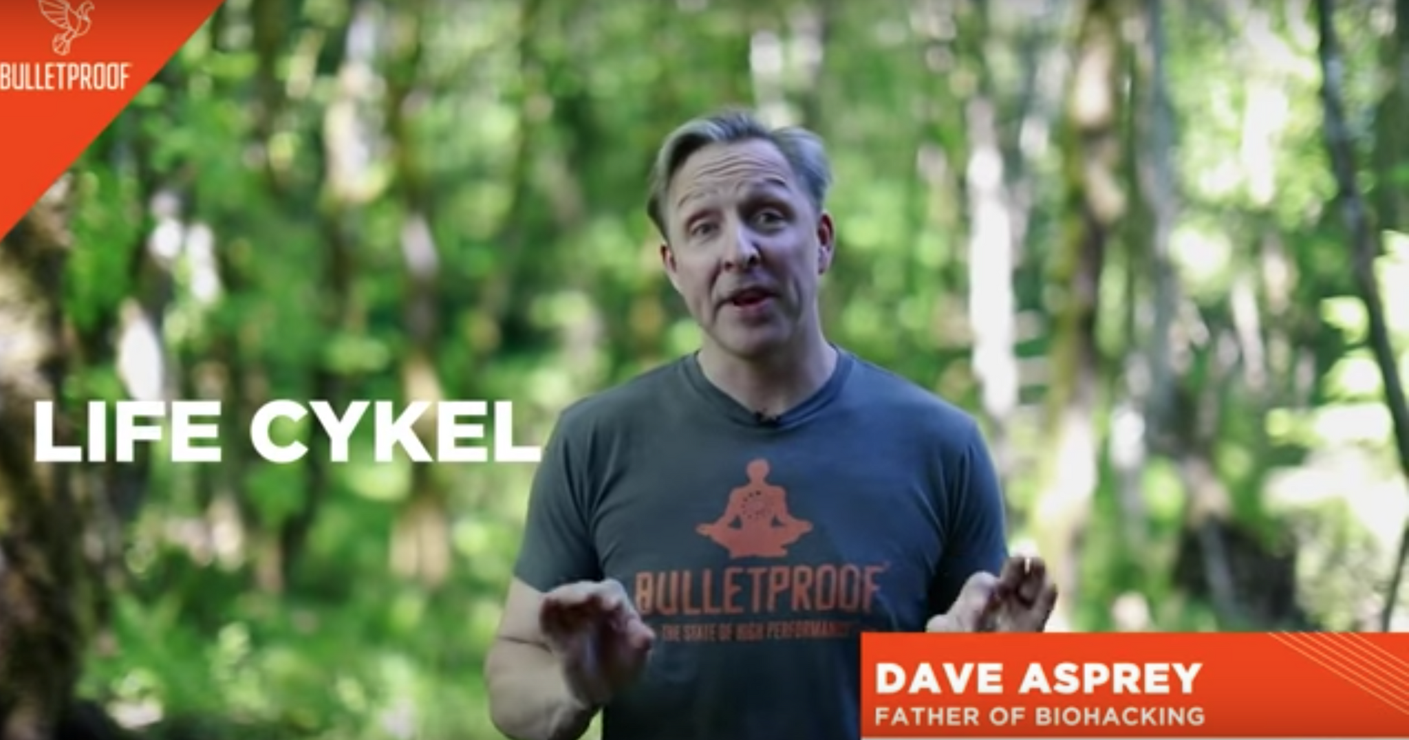 Life Cykel meets up with Dave Asprey from Bulletproof Radio: Summary