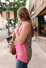 Load image into Gallery viewer, Leopard In Lipstick Sleeveless Top