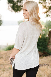 Silver Lining Knit Top