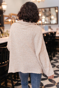 Cozy Cowl Neck in Oatmeal