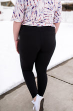 Load image into Gallery viewer, Everybody's Favorite Full Length Black Leggings