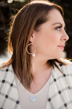 Load image into Gallery viewer, Be Still My Heart Earrings In Gold
